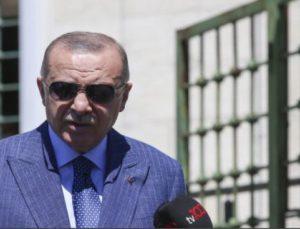 Cumhurbaşkanı Erdoğan, cuma namazının ardından gazetecilerin sorularını yanıtladı: