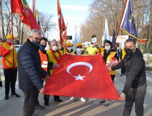 57'nci ve 27'nci Alay gönülleri Edirne'den Çanakkale'ye yola çıktı