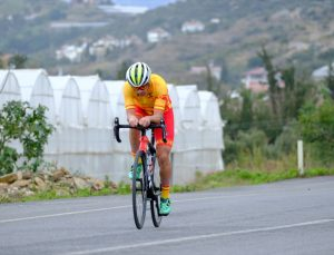 9. Avrupa İşitme Engelliler Yol Bisikleti Şampiyonası Alanya'da sürüyor
