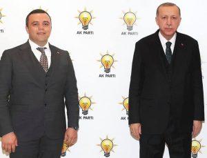 AK Partili Aydın, Seferihisar raporunu Cumhurbaşkanı Erdoğan'a verdi