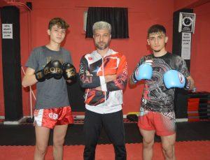 Afyonkarahisarlı kick boksçular, uluslararası organizasyonlarda madalya kazanmak istiyor