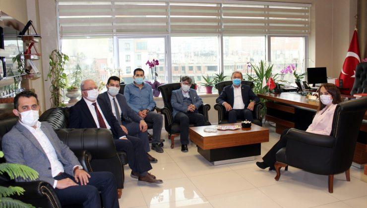 AK Parti Denizli Milletvekili Şahin Tin'den sağlık çalışanlarını ziyaret