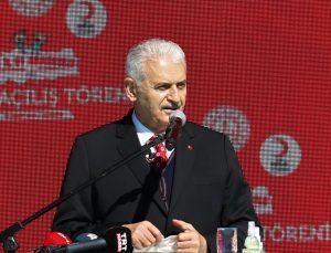 AK Parti İzmir Milletvekili Binali Yıldırım Burdur'daki toplu açılış töreninde konuştu: