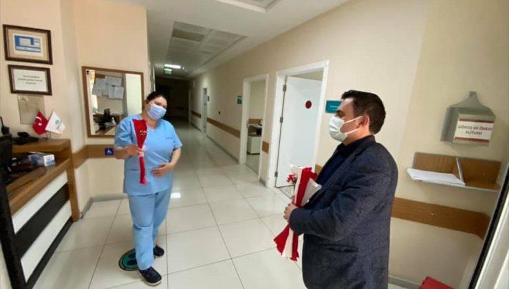AK Parti Marmaris İlçe Başkanı Gökmen'den sağlık çalışanlarına ziyaret