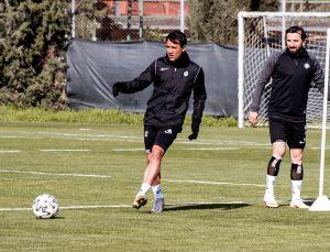 Altay, Bursaspor maçının hazırlıklarına devam etti