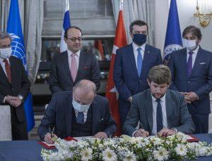 Ankara Üniversitesi ile BM Barış Üniversitesi arasında deniz hukuku alanında işbirliği anlaşması imzalandı