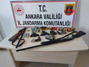 Ankara'da silah kaçakçılığı yapmakla suçlanan 3 kişi yakalandı