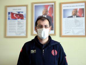 """Ardahan İl Ambulans Servisi Başhekimi Zihni Çağin'den """"salgınla mücadele tek taraflı olmuyor"""" uyarısı"""