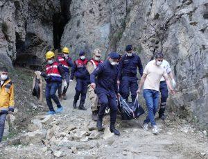 Artvin'de Cehennem Deresi Kanyonu'nda erkek cesedi bulundu