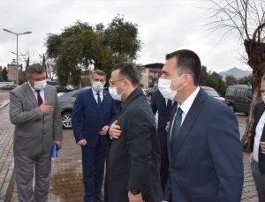 Aydın Valisi Aksoy, Germencik'te muhtarların sorunlarını dinledi
