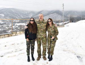Azerbaycan Cumhurbaşkanı Aliyev, Ermenistan işgalinden kurtarılan Fuzuli ve Hocavend'i ziyaret etti