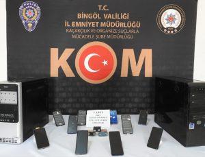 Bingöl ve Diyarbakır'da kaçakçılık operasyonunda 14 gözaltı