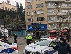 Bursa'da meydana gelen heyelan nedeniyle bazı evler boşaltılıyor