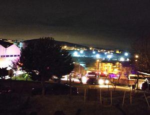 Çekmeköy'de gıda üretim tesisinde yangın çıktı
