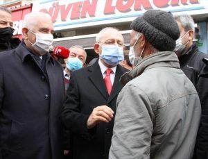 CHP Genel Başkanı Kılıçdaroğlu, Kırıkkale'de esnaf ziyaretinde bulundu: