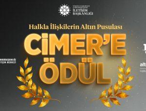 """CİMER'e """"Altın Pusula"""" ödülü"""