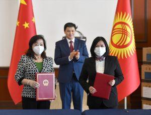 Çin'den Kırgızistan'a 150 bin doz aşı desteği