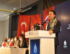 DEVA Partisi Genel Başkanı Ali Babacan, Mersin'de gazetecilerle buluştu: