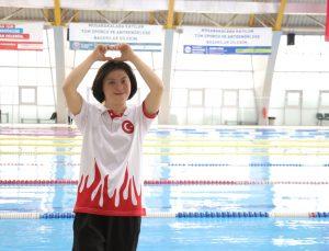 Down sendromlu milli yüzücü Fatma, Avrupa şampiyonluğu hedefliyor: