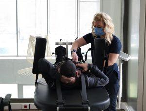 Ermeni saldırılarında yaralanan Azerbaycanlı iki gazi ayağa kalkabilmek için Bursa'da tedavi görüyor