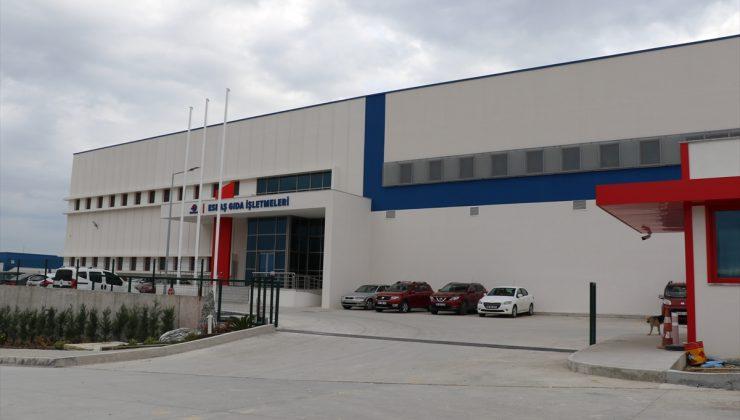 ESBAŞ'ın yeni tesisinde günde 20 bin 500 kişiye yemek hazırlanıyor