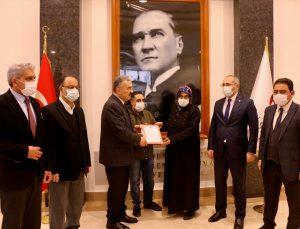 Eskişehir'de hayırsever iş insanlarınca Gara şehidi Mevlüt Kahveci'nin ailesi için ev alındı