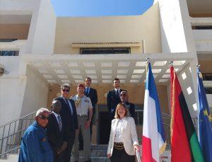 Fransa'nın Libya'daki büyükelçiliği 7 yıl aradan sonra yeniden açıldı