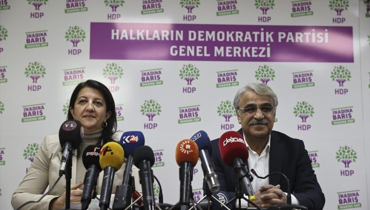 HDP Eş Genel Başkanları Buldan ve Sancar, MYK toplantısına ilişkin açıklama yaptı
