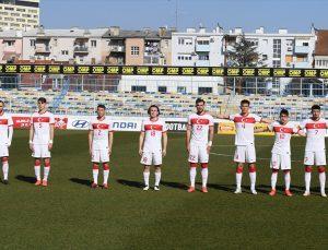 Ümit Milli Futbol Takımı, hazırlık maçında Hırvatistan'a 4-1 yenildi