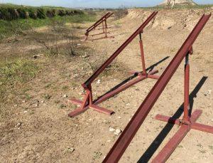 Irak'ta Peşmergeye yönelik dünkü saldırıda kullanılan roket rampaları bulundu