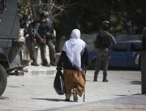 İsrail askerleri Batı Şeria'da gösteri düzenleyen Filistinlilere müdahale etti