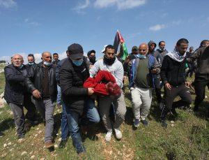İsrail askerleri Batı Şeria'daki gösteriye müdahale sırasında bir Filistinliyi şehit etti