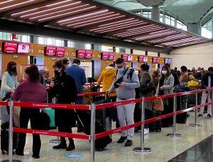 İstanbul Havalimanı, Kovid-19 sürecinin en yoğun gününü yaşıyor