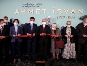 """Kılıçdaroğlu, """"İstanbul'un Halkçı Belediye Başkanı Ahmet İsvan (1973-1977)"""" sergisinin açılışına katıldı:"""