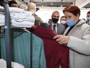 İYİ Parti Genel Başkanı Meral Akşener, Mardin'de partililerle buluştu