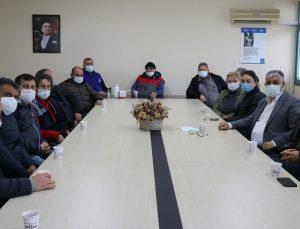 İzmir Balıkçı İş Adamları Derneğinde, Şahin Çakan güven tazeledi