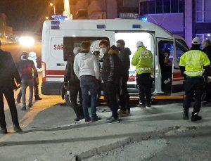 Karabük'te zincirleme trafik kazası: 2 yaralı