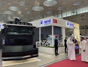 """Katar'da Türk şirketlerin de katıldığı güvenlik ve sivil savunma fuarı """"Milipol Qatar"""" başladı"""