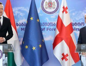 Macaristan'dan Gürcistan'ın AB ile entegrasyonuna destek