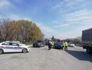 Manisa'da havadan trafik denetimi yapıldı