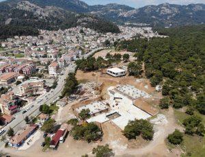 Marmaris Devlet Hastanesi inşaatının en kısa zamanda bitirilmesi planlanıyor