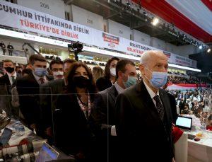MHP Genel Başkanı Devlet Bahçeli, partisinin 13. Olağan Büyük Kurultayı'nda konuştu: (1)