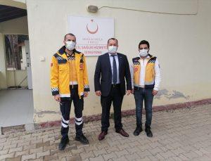 MHP Datça İlçe Başkanı Akyel, sağlık çalışanlarını ziyaret etti