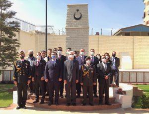 Mısır'daki Türk Şehitliği'nde Çanakkale şehitlerini anma töreni düzenlendi