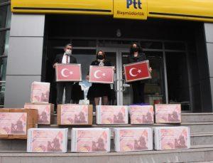 Muğla'da 10 bin öğrenci sınır hattındaki Mehmetçiğe moral mektubu gönderdi