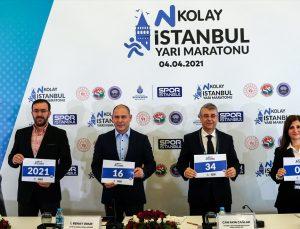 N Kolay İstanbul Yarı Maratonu, 4 Nisan'da yapılacak