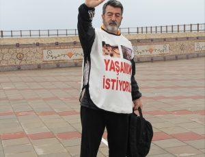 Oyuncu İğdigül, hayvanlara yapılan işkenceye dikkat çekmek için Mersin'den İzmir'e yürüyecek