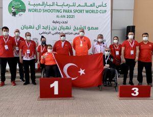 Para Atıcılık Dünya Kupası'nın üçüncü gününde milli sporcular 2 madalya kazandı