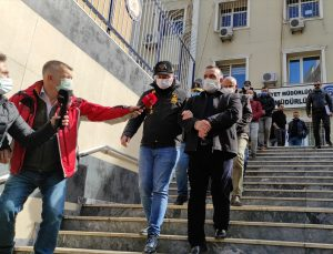 Salih Memişoğlu ile çalışanının öldürülmesine ilişkin yakalanan 5 şüpheli adliyeye sevk edildi