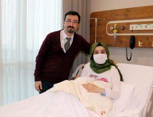 Samsun'da bir anne iki kez sezaryenin ardından normal doğum gerçekleştirdi
